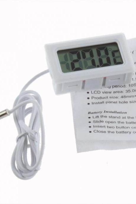 LCD Refrigerator Freezer Fridge Digital Thermometer Temperature -50 ~ 110??c