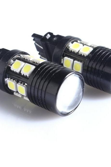 1Pair 12W White Light 1156 3157 7440 5050SMD LED Lamp Car Brake Stop Light Bulb Lamp Turn Signal Backup Led Light Source