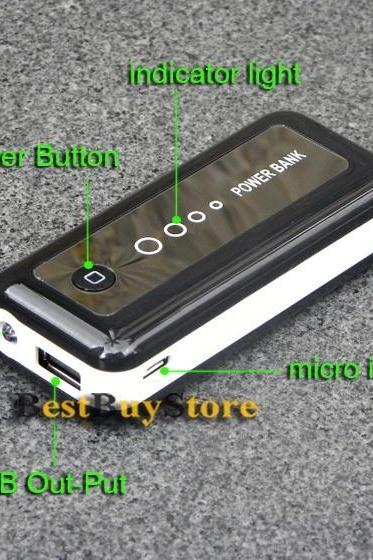 5600mAh Portable power bank / External backup Battery charger for iphone 6 5 5S / SAMSUNG Galaxy S3 S4 S5 / HTC ALL MOBILE