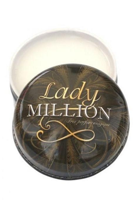 NEW FRANCE BRAND GENUINE CHAMONIX LADY MILLION WOMAN BALM SOLID PERFUME MAGIC BALSAM